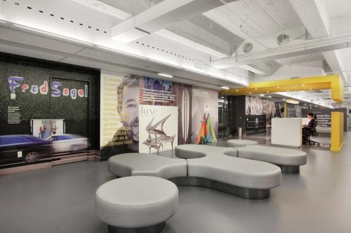 上海办公楼装修- 纽约市SANDOW总部办公空间设计