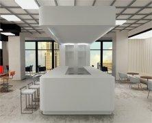上海办公楼装修-开阔大气的主题办公空间设计
