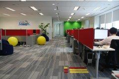 上海办公楼装潢-谷歌办公空间创意设计