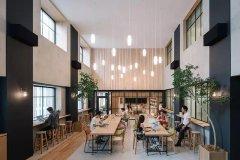 上海办公楼装修-家居式办公空间装修设计