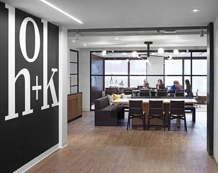 上海写字楼装潢- 活力灵动的HOK建筑师事务所