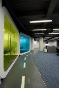 办公室效果图现代简约设计风格
