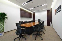 公司前台装修效果图办公室装修环保贴士