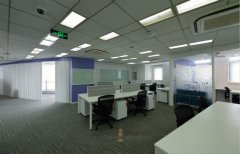 办公室装修实景图-办公楼装修设计吊顶如何选材