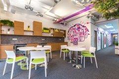 300平科技公司小面积办公室装修效果图