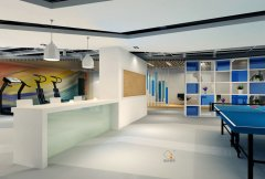 杨浦商务楼装修-办公室装修如何设计窗户装饰