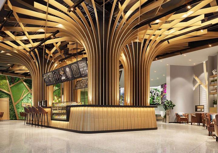上海茶室装潢公司设计