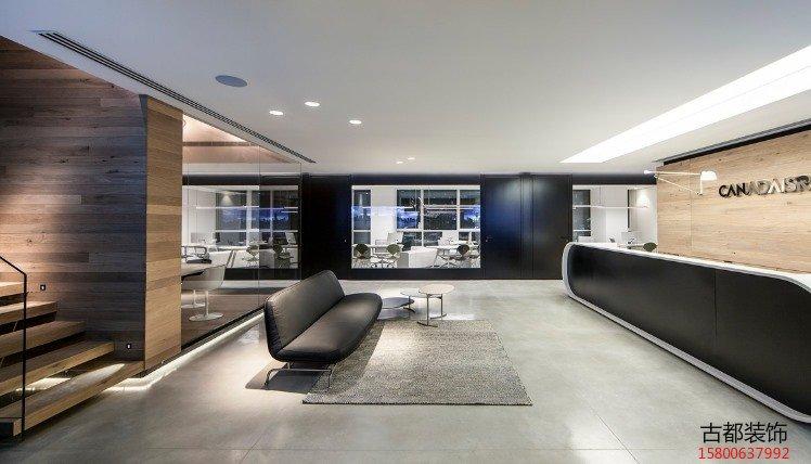 商业空间装饰装修设计公司前台设计风水(图2)