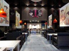 上海饭店餐饮店装修日本寿司连锁店装修